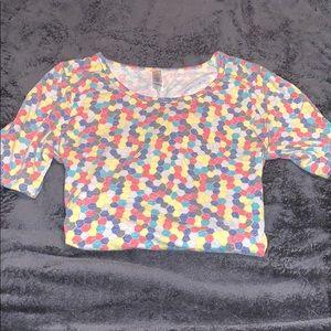 LuLaRoe Tops - Lularoe Medium M shirt perfect t tee